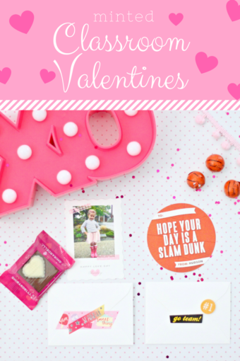 Classroom Valentine's with Minted