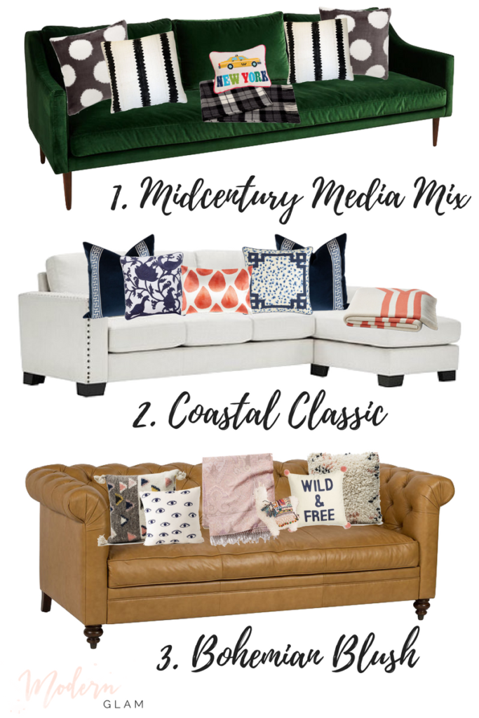 Pick Your Style 3 Ways to Mix Patterns for your Sofa