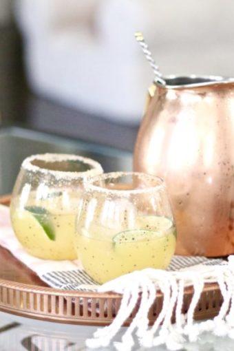 Citrus Margaritas with Cayenne Pepper Salt