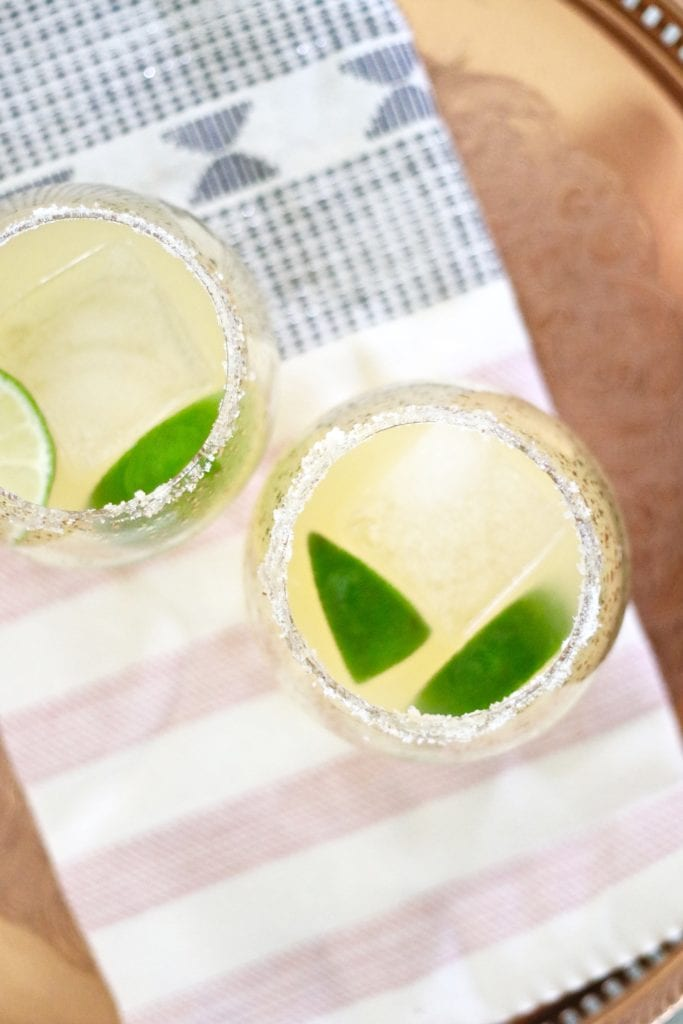 Citrus Margaritas with Cayenne Pepper Salt