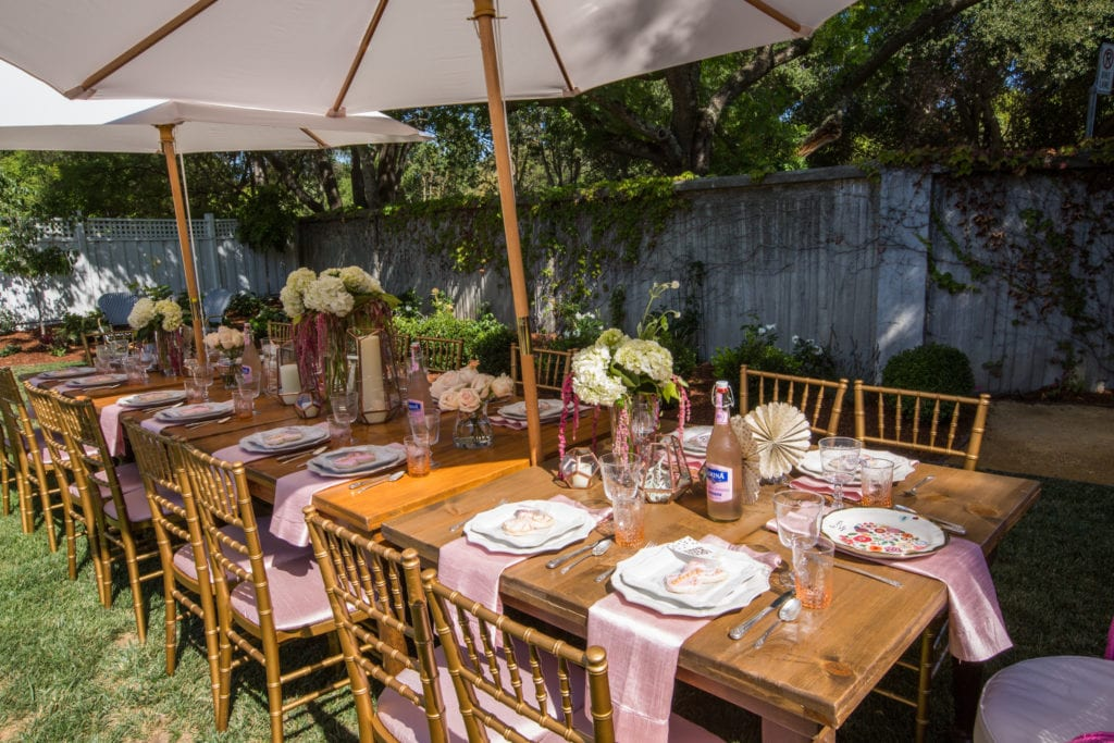 garden bridal shower