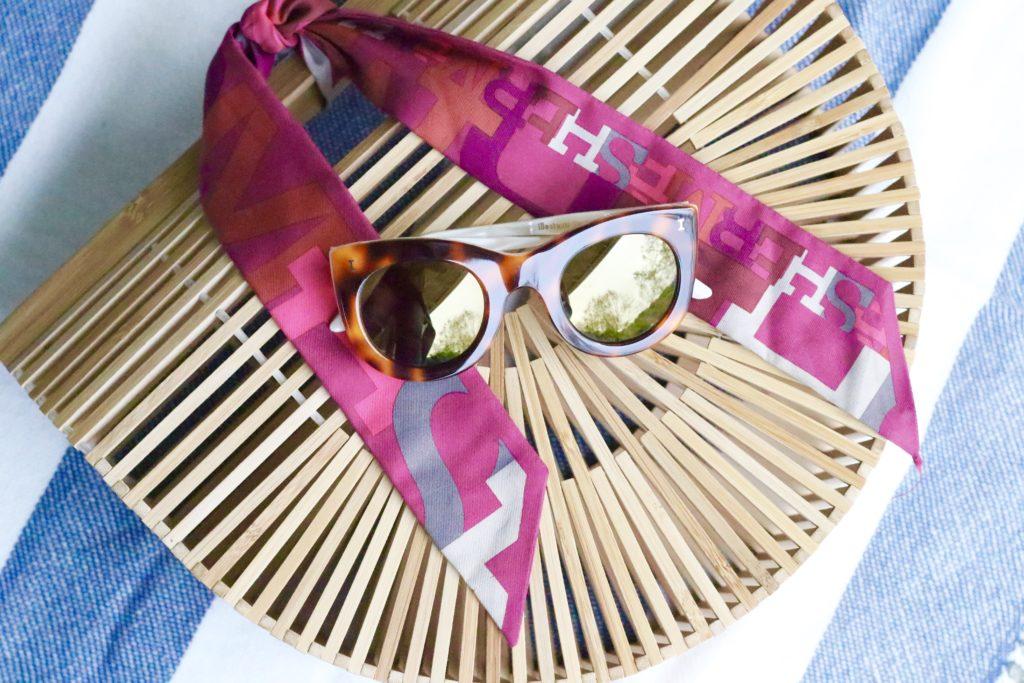 shop till you drop - bag and sunglasses
