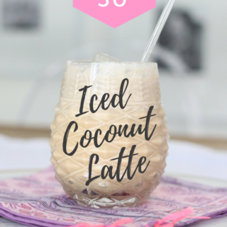 whole30 iced coconut latte