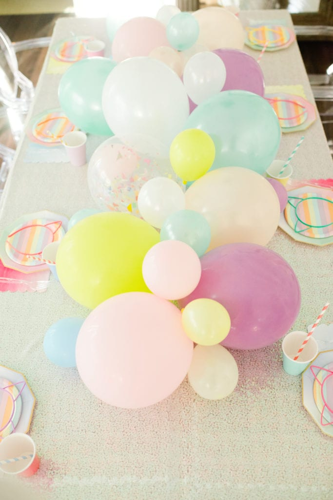 Cat Birthday party idea