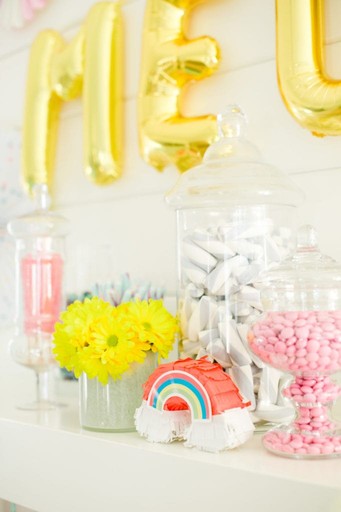 candy buffet birthday party