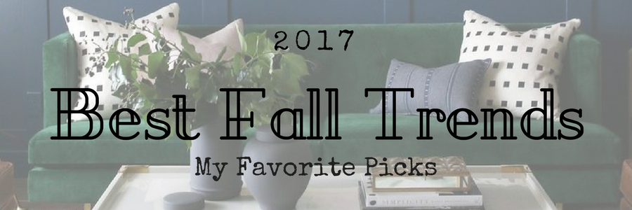 Best fall fashion and fall home decor
