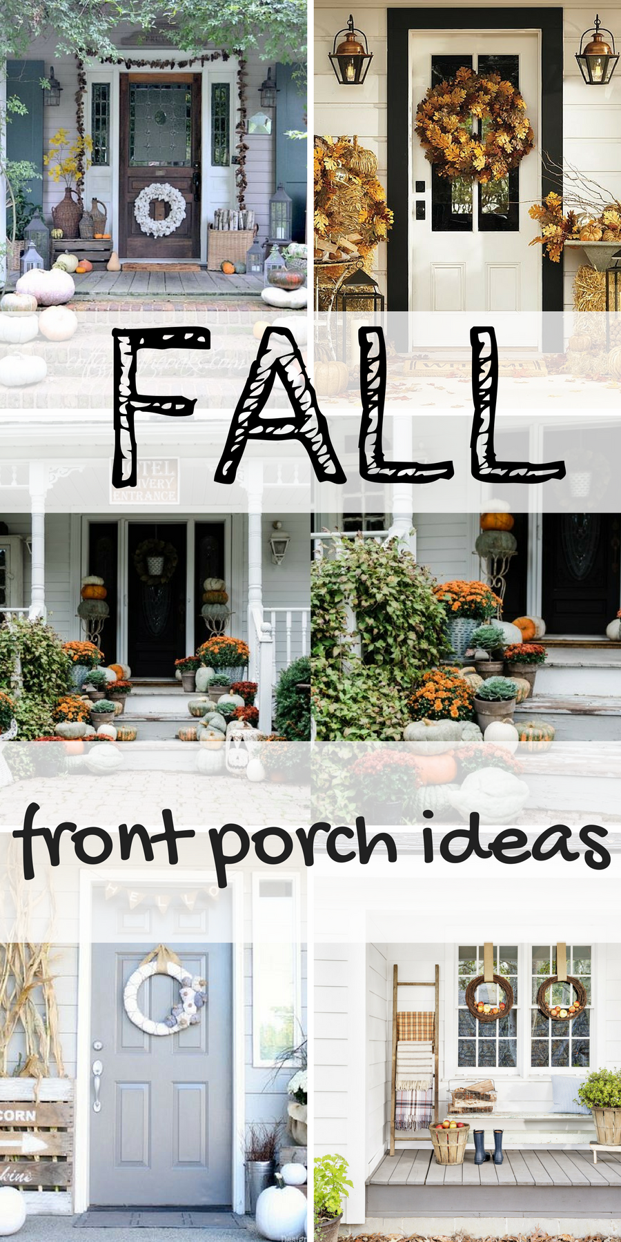 decorate porch fall