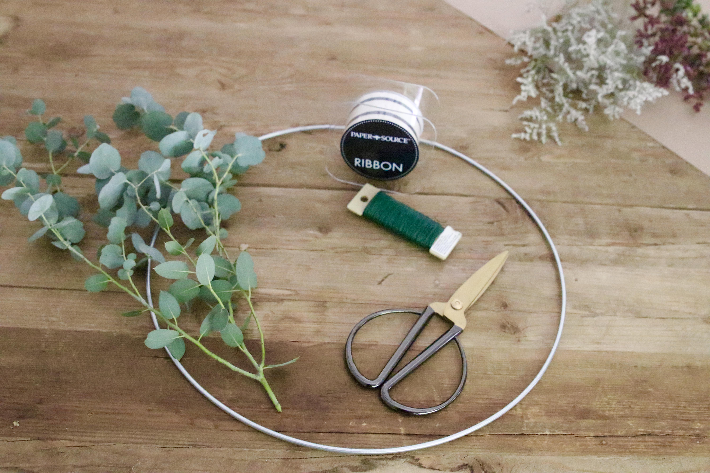 simple eucalyptus wreath
