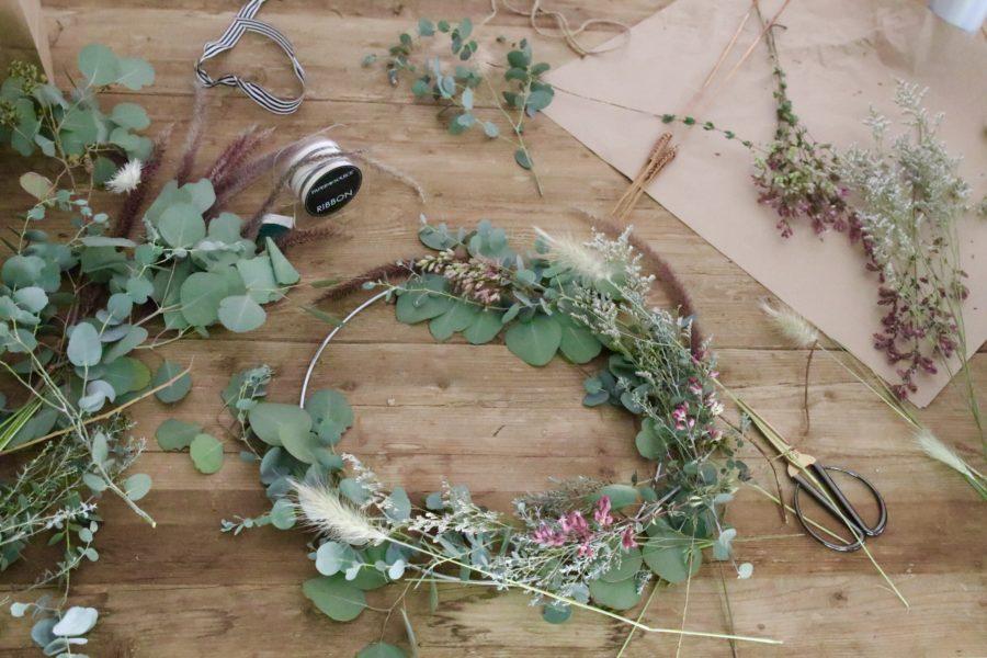 eucalyptus summer wreath