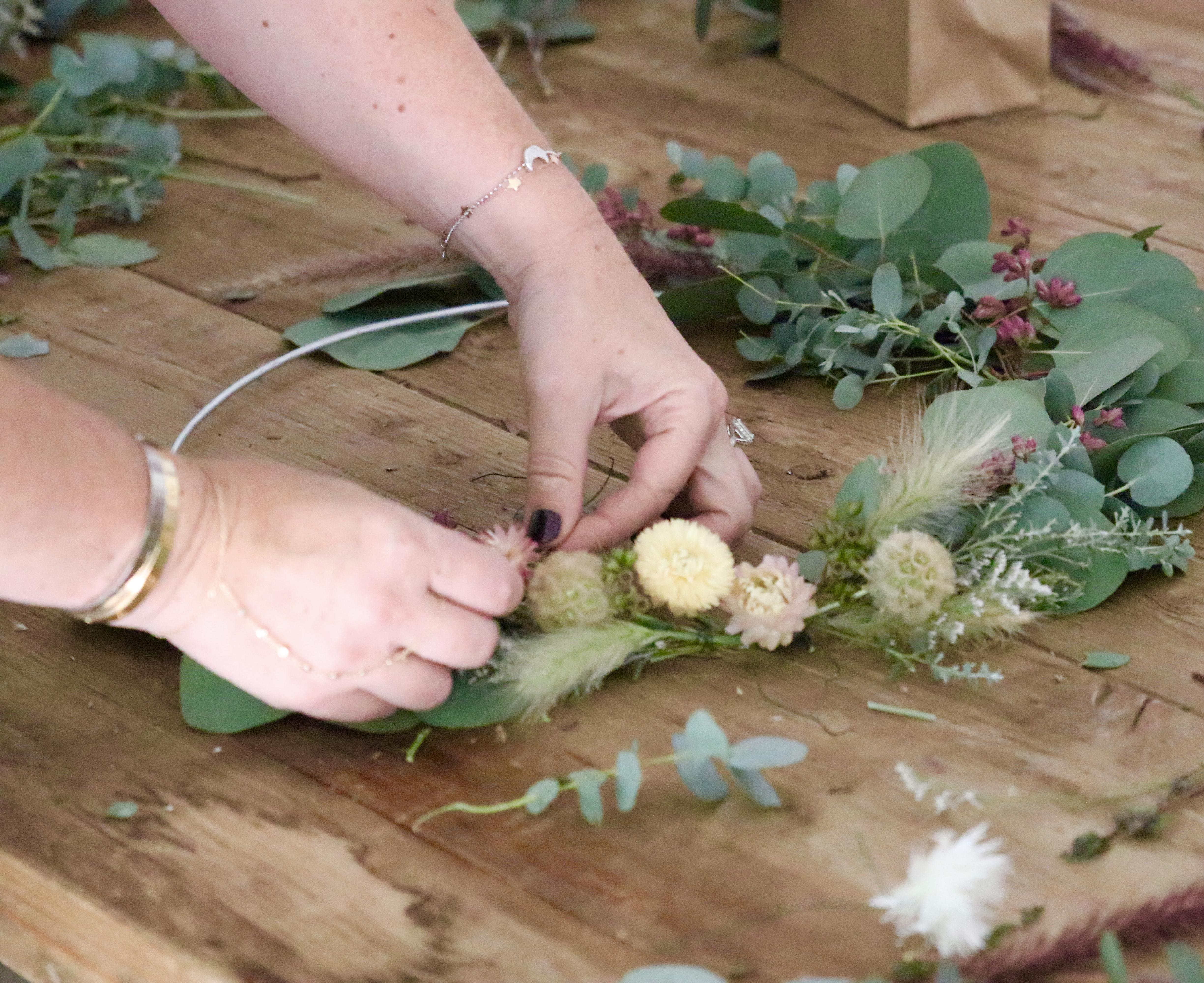 summer eucalyptus wreath