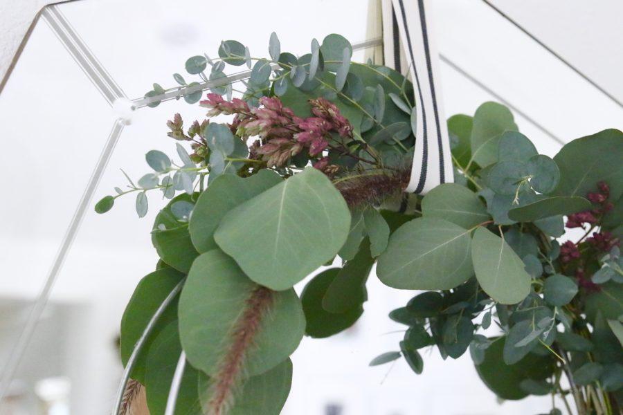 rustic eucalyptus wreath