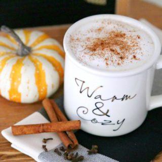 all natural pumpkin spice latte
