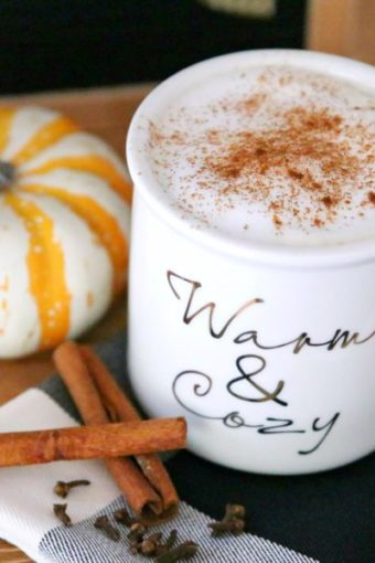 all natural pumpkin spice latte