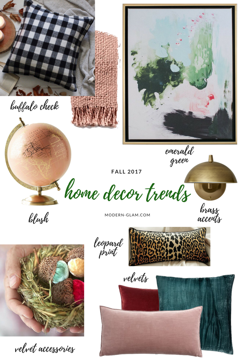 fall 2017 home trends-2 - Modern Glam