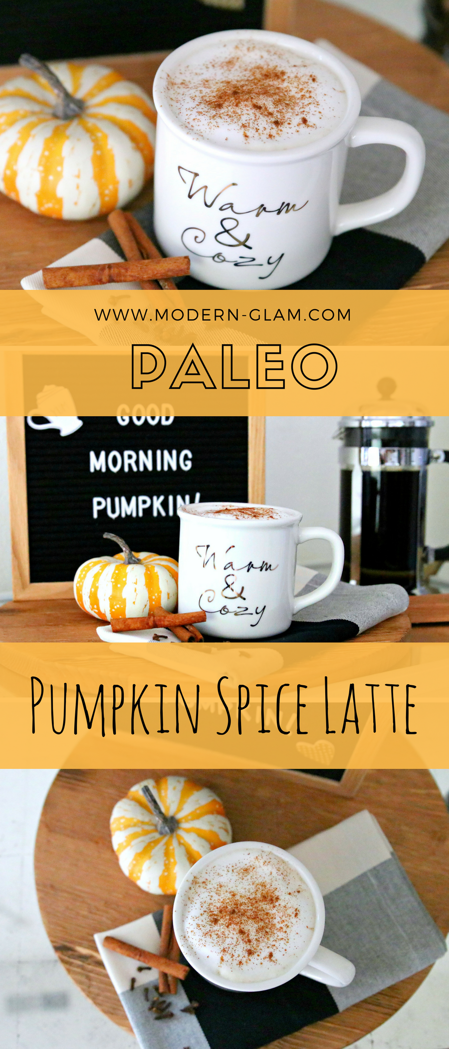 paleo pumpkin spice latte recipe