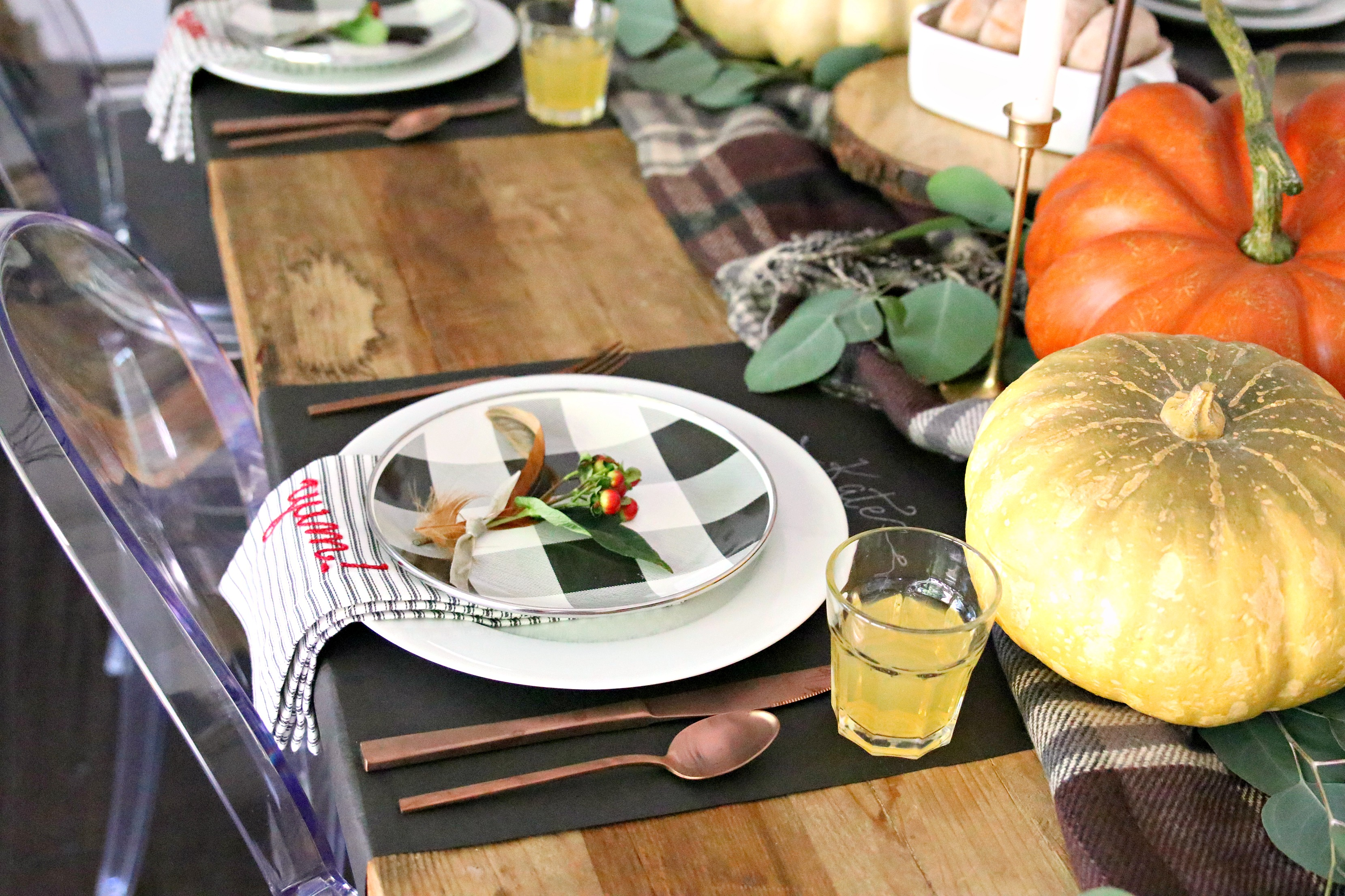 5 tips to create a fall tablescape