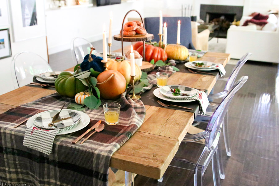 fall tablescape decorating ideas