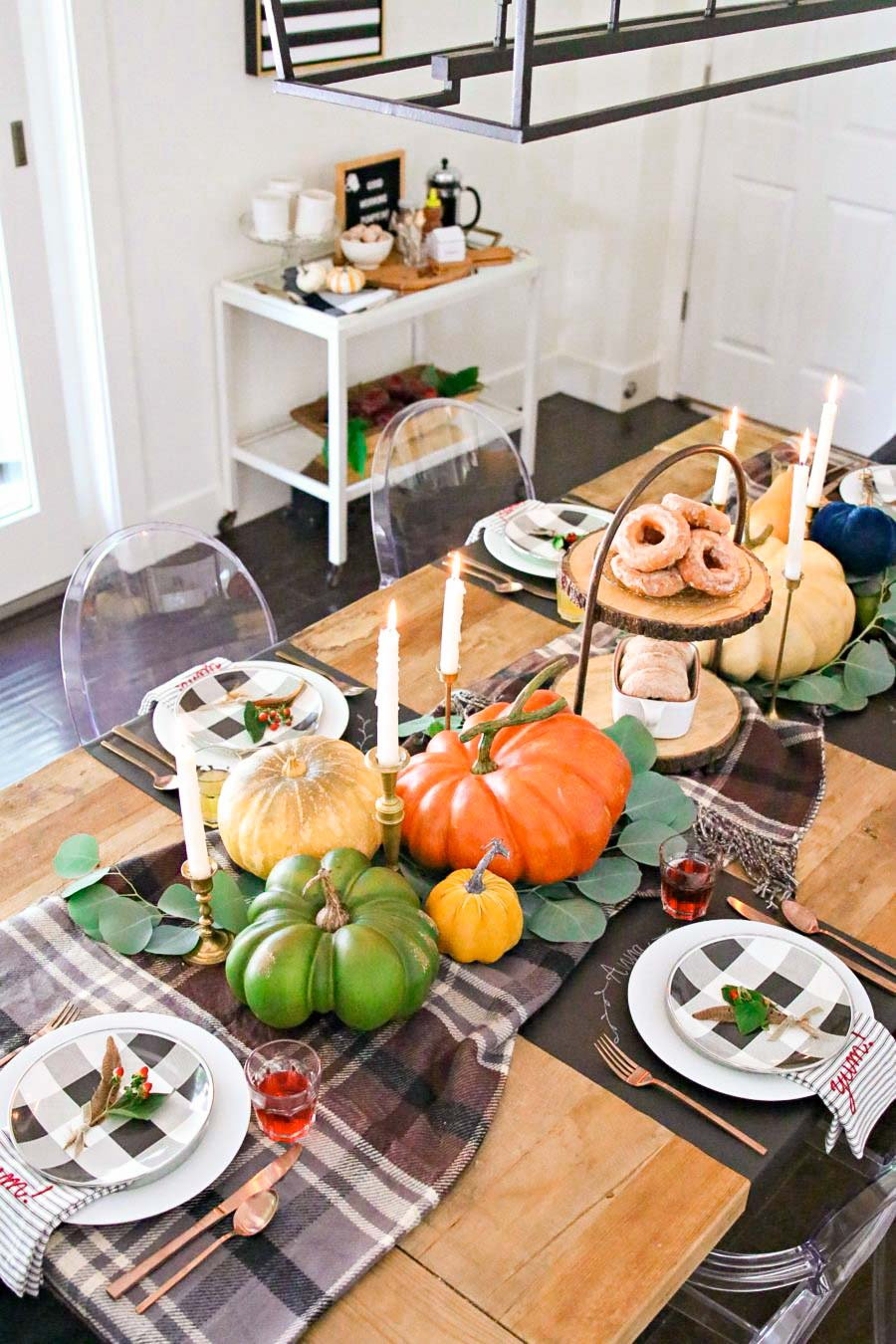 fall and thanksgiving table ideas