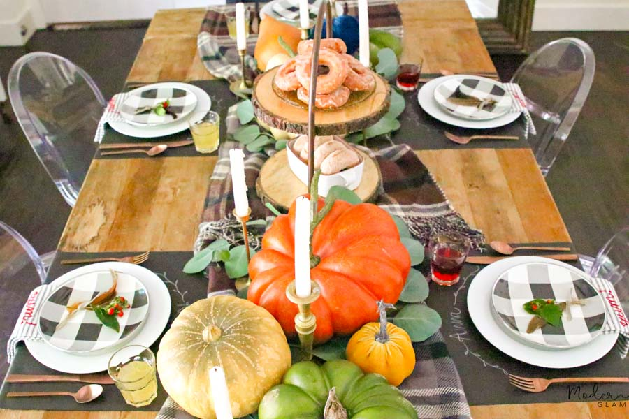 5 tips for creating a fall table