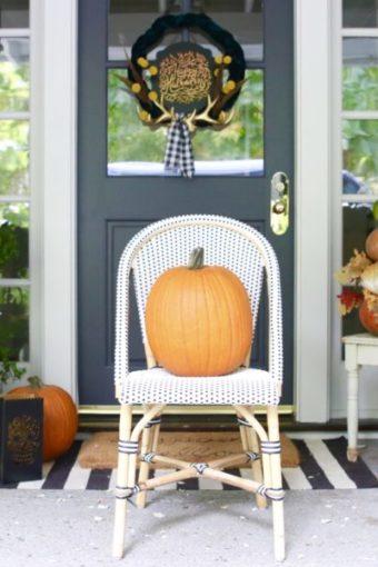 Modern Farmhouse Halloween Home Tour