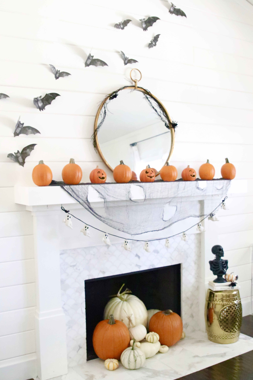 Halloween Mantel Decoration