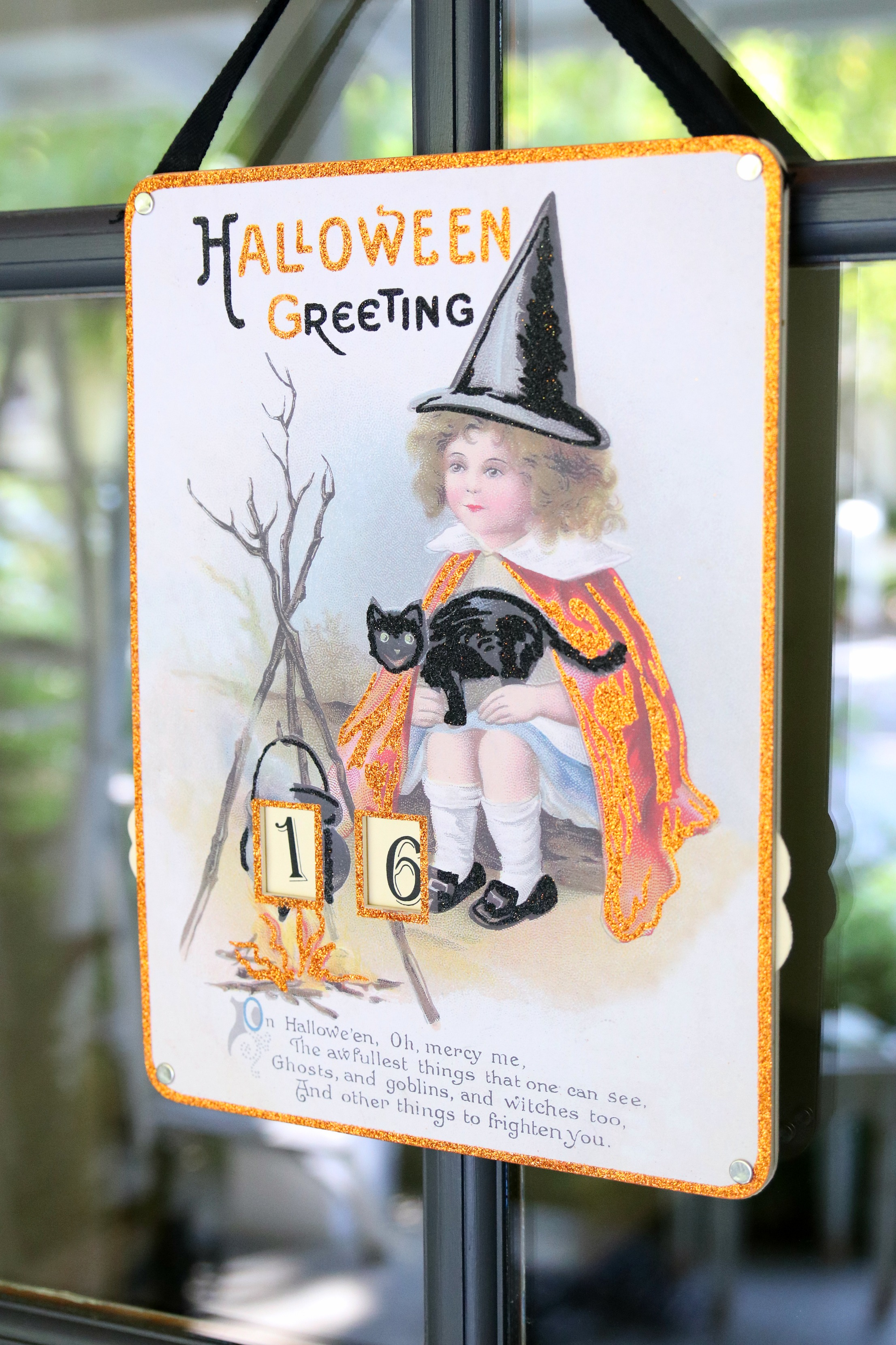 Glam Farmhouse Halloween