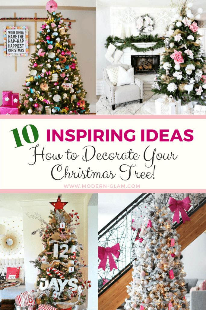 10 Inspiring Ideas How to Decorate Your Christmas Tree!