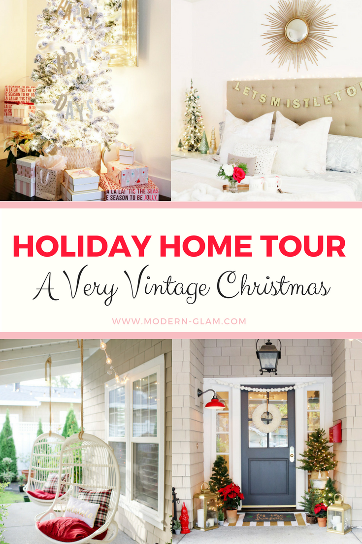 Holiday Home Tour - Christmas tree, Christmas kitchen, holiday front porch and more!