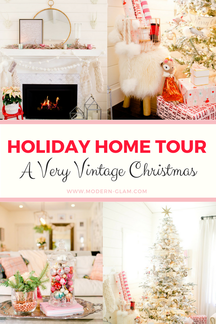 Holiday Home Tour: A Very Vintage Christmas