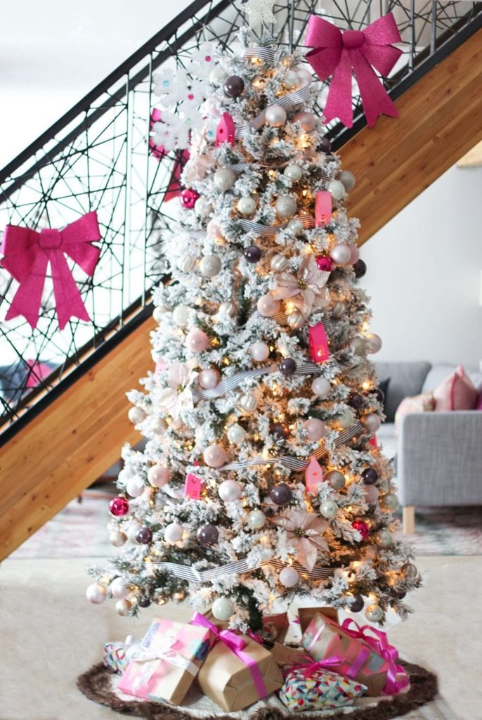 Candy Pink Christmas Tree