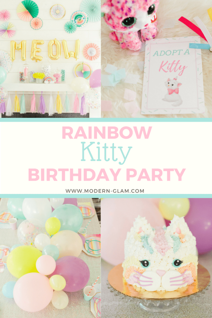 Rainbow Kitty Birthday Party