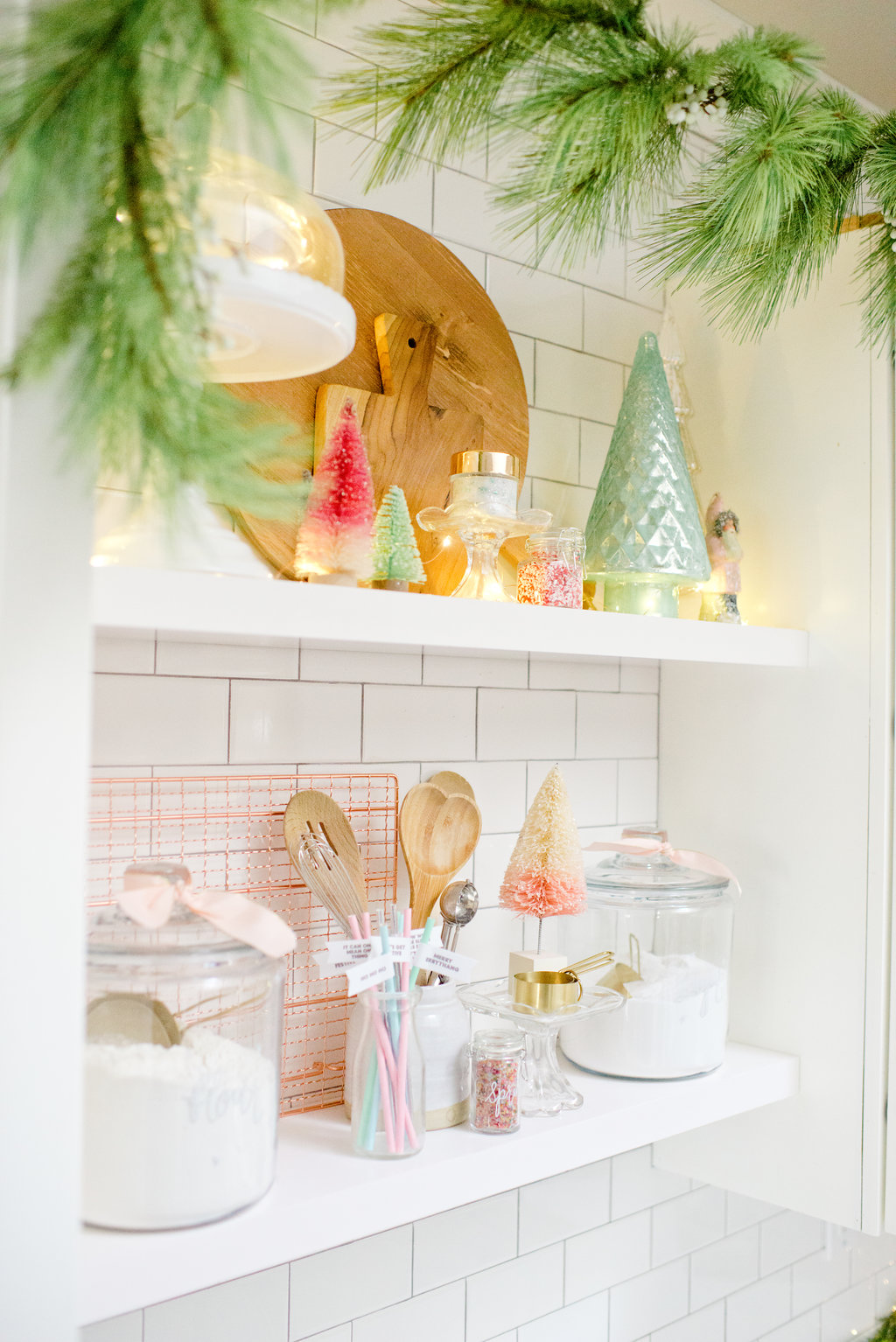 Holiday Baking Shelves