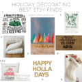 Holiday Decorating: Favorite Etsy Finds. Christmas Decor, Favorite Etsy Holiday Decorations