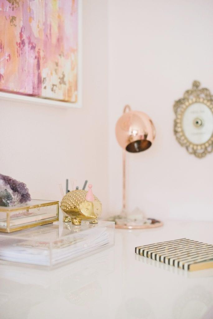 inspiring girl boss office spaces