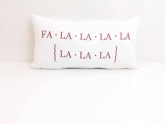 christmas decorating: Holiday pillows