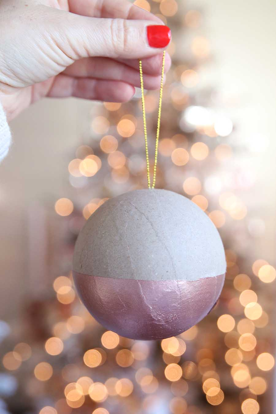 Easy DIY Ornaments: $1 Project