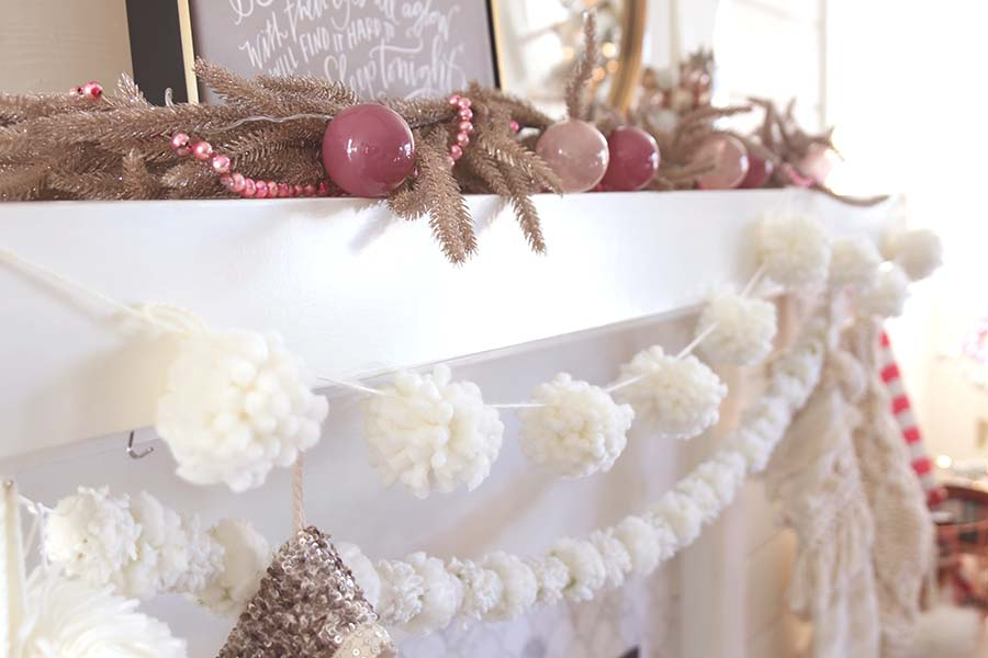 DIY Pom Pom Garland Project