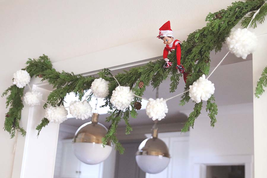 Pom Pom Garland DIY Project