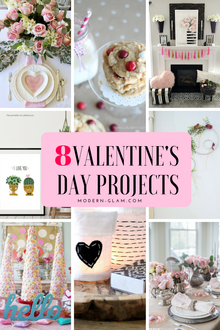 8 Easy Valentine's Day Projects and Craft Ideas