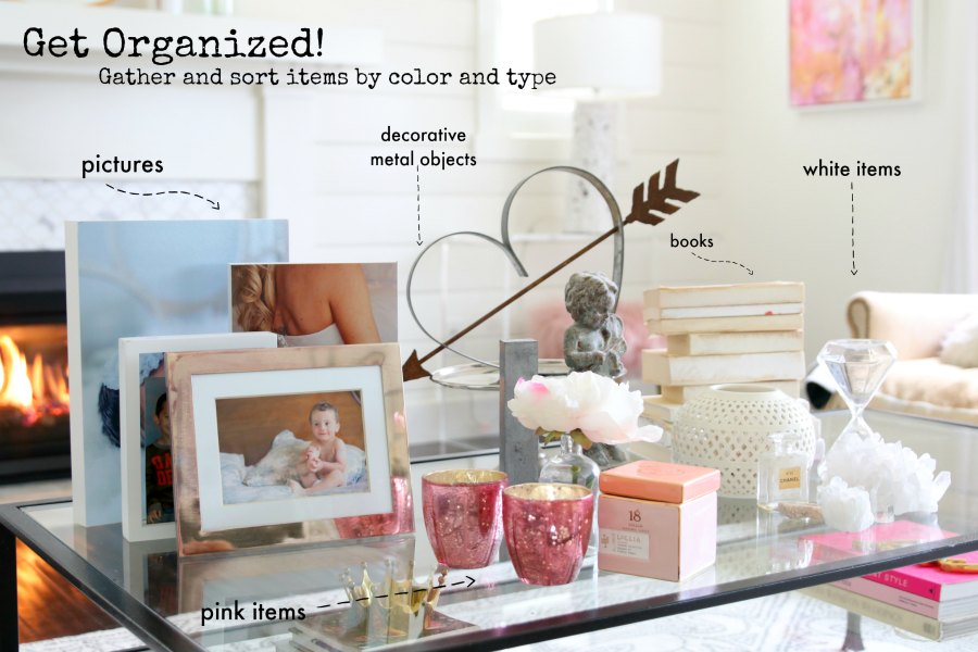 How To: Shelf Styling Step by Step