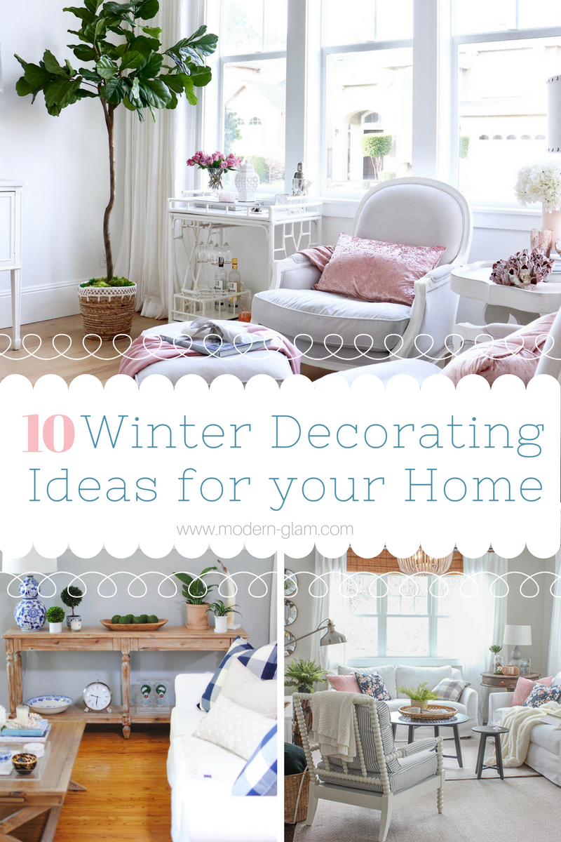 10 Winter Decorating Ideas for your Home. Winter Decor. Cozy Home. Hygge home. How to decorate for winter