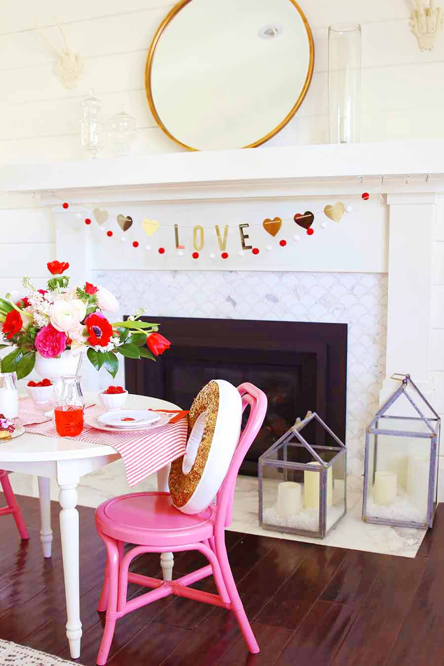 valentine's day decorating ideas