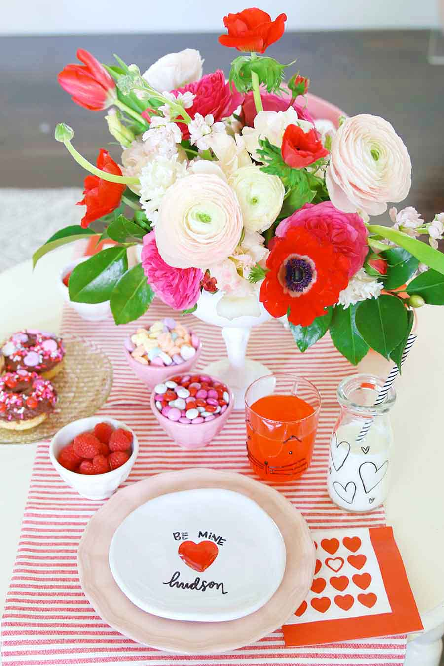 valentines day kids brunch and party