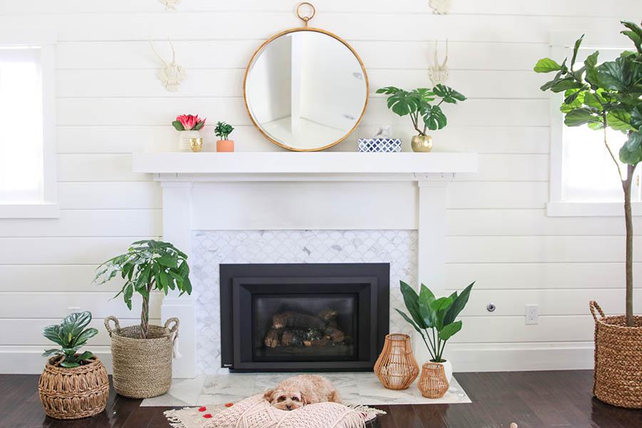 Bohemian Glam Living Room