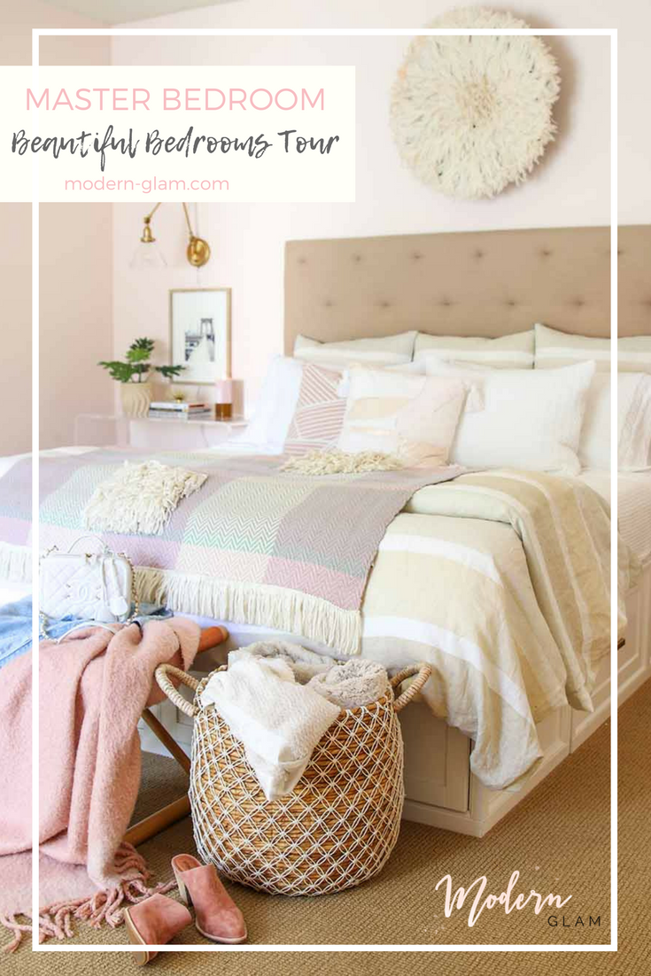 Beautiful Bedrooms Tour - Master Bedroom Refresh. Pink Bedroom. Boho Bedroom. Eclectic Modern Bedroom. Coastal Bedroom. Linen Bedding