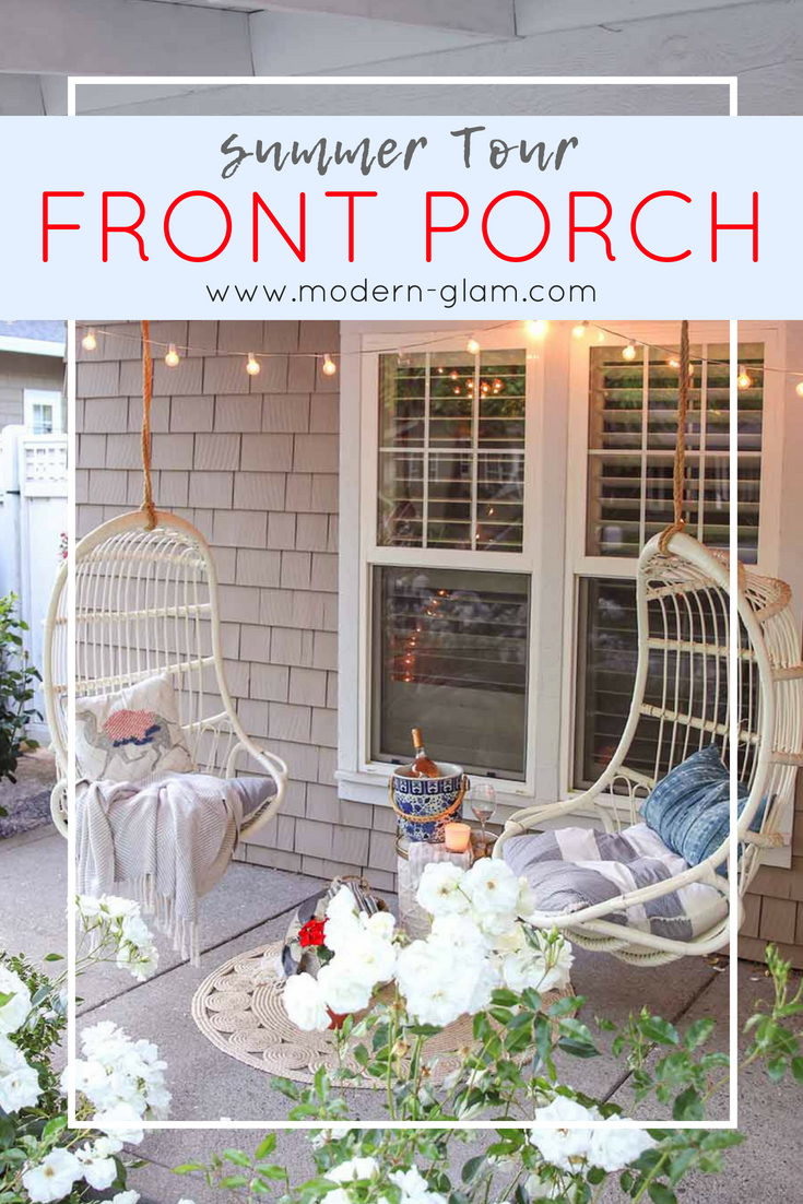 Summer Porch Decorating. Come Tour my Summer Home. Summer Front Porch. My Summer Front Porch Tour.