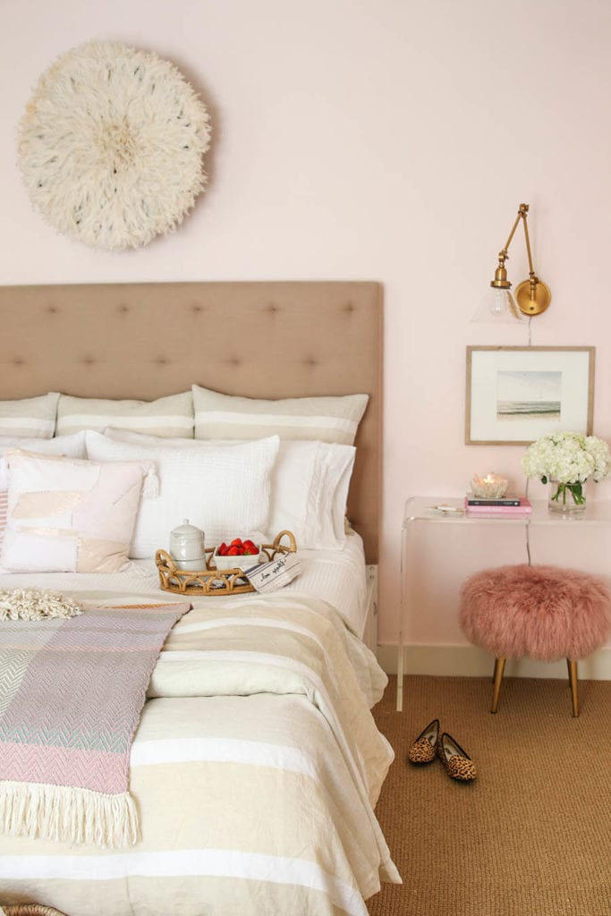 blush bedroom