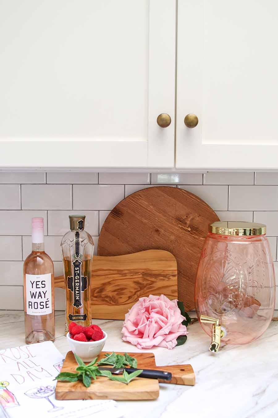 rose cocktail recipe