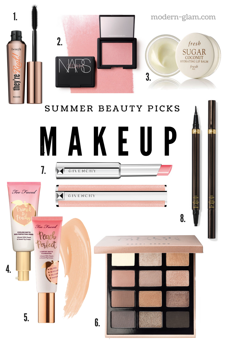 Summer Beauty picks - My summer makeup favorites