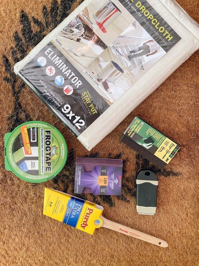 paint supplies for front door